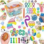 45 Pcs Fidget Toys Set Cheap Fidget Toys Box Set ,Sensory Relief Toys Set, Anxiety Relief Fidget Toys, Figetge