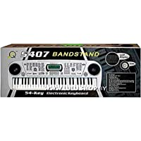 Jojoss Brandstand Electronic Keyboard 54 Key Musical Piano with Microphone Model 5407