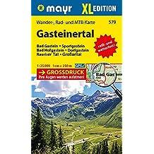 Gasteinertal XL: Wander-, Rad- und Mountainbikekarte. GPS-genau. 1:25000 (Mayr Wanderkarten)