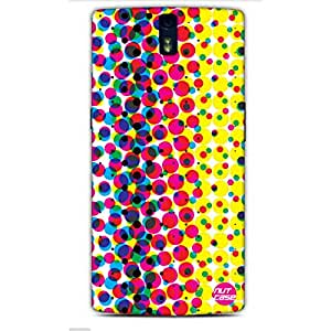 Designer One Plus One Case Cover Nutcase-Colorful Bubble Wrap