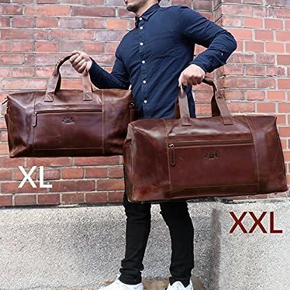 SID-VAIN-Reisetasche-Leder-Bristol-XXL-gro-Sporttasche-gro-Weekender-Ledertasche-65-cm