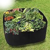 Firlar Garten, Pflanzen Belüftung Stoff Container, Hochbeet, Tasche Erhöhtes Hundebett, Stoff wachsen Töpfe, Hochbeete, Staubbeutel für Pflanzen Wachsen–alle Größe