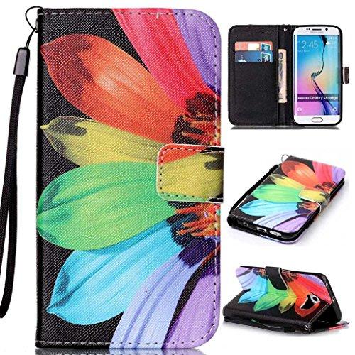 Samsung Galaxy A32016custodia in pelle + free tempered glass Screen Protector, Boxtii® [Slim Fit] PU (Cinghia Web Vita)