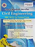 Dnyandeep Civil Engineering 1800+ MCQs fpr Various Examinations