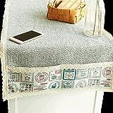 MOOMDDY Tischläufer, Handgewebte Tischdecke Wohnzimmer Küche Büro Couchtisch, Schuhschrank TV-Schrankbett, Dekoratives Geschirr, Bettfahne,40 * 180Cm