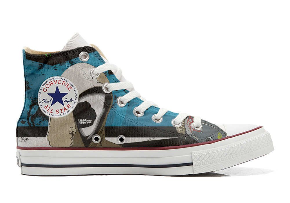 Converse Personalizados All Star Customized – Zapatos Personalizados (Producto Artesano) Graffiti Street
