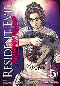 Resident Evil Heavenly Island Edition simple Tome 5