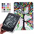 Kindle Paperwhite Case, MoKo Premium Ultra Lightweight Shell Cover with Auto Wake / Sleep for Amazon All-New Kindle Paperwhite (Fits All 2012, 2013 and 2015 Versions), Lucky Tree