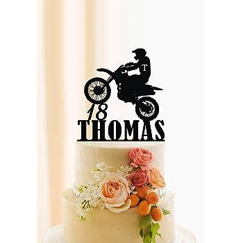 Motocross Mix 12 Esspapier Cupcake Kuchen Dekorationen Amazon De