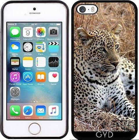 Hülle für Iphone SE - Leopardkatze Tiger Und Löwe by WonderfulDreamPicture