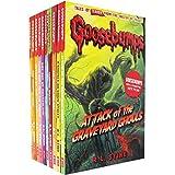Scholastic Goosebumps Shocker 10 Book Set