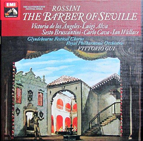 Rossini: The Barber of Seville (Il Barbiere di Siviglia) (Gesamtaufnahme, italienisch, 1962) [Vinyl Schallplatte] [3 LP Box-Set]