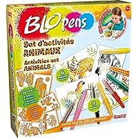 Lansay 23527 - Kit De Loisirs Créatifs - Blopens Set D'activité Animaux
