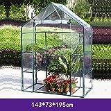 Carpas de invernadero Un cobertizo de invernadero, las plantas crecen tienda de campaña, 4 pisos cobertizo de flores de invernadero balcón doméstico, Planta simple y cobertizo de siembra de flores Tam