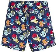 Pokèmon Pantalones Cortos Pantalones Cortos De Natación para Niños con Pikachu Y Pokeballs | Ropa para Niños E