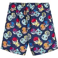 Pokèmon Pantalones Cortos Pantalones Cortos De Natación para Niños con Pikachu Y Pokeballs   Ropa para Niños En Tamaño 5 A 14 Años   Trajes De Natación para Niños