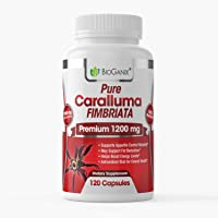 BEST 100% Pure Caralluma Fimbriata Extract 1000mg (120 Capsules = BEST VALUE) Â MAX STRENGTH 10 : 1 Extract