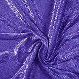 Pannesamt, uni, lila, 145 cm breit, Meterware