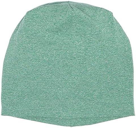 MSTRDS Heather Jersey Beanie, Bonnet Mixte, Grün (Kelly 4228), Taille Unique