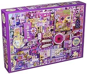 Cobblehill 80151 - Puzzle (1000 Piezas), Color Morado