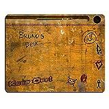 Bruno De Bureau vintage-Bureau École personnalisée Tapis de souris (5mm d'épaisseur).