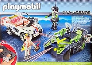 Playmobil 5088 - Top Agents - IR Future Cars
