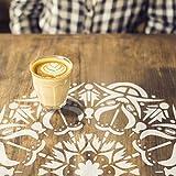 Mandala dekorative Wandschablone - Schablonen für wände - Maler Schablonen