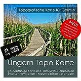 Ungarn Garmin Karte TOPO 4 GB microSD. Topografische GPS Freizeitkarte für Fahrrad Wandern Touren Trekking Geocaching & Outdoor. Navigationsgeräte, PC & MAC