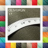 1buy3 10 Lfm Oxford 600D Farbe 17 | OLIVGRÜN | Polyester
