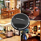 Outgeek Cleaning Robot USB Rechargeable Automatic Robotic Vacuum Cleaner Mopping Robot Dust Cleaner Robot One Size Black