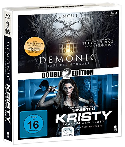 Preisvergleich Produktbild Mystery Double Pack 3: Demonic & Kristy [Blu-ray] (Double2Edition; Uncut)