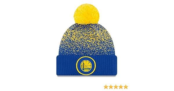 New Era Golden State Warriors NBA  17 Pom Beanie Berretto 2731da395da7