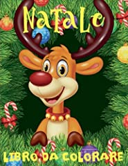 Idea Regalo - Natale Libro Da Colorare Album Da Colorare: Christmas Coloring Book Preschoolers: Volume 6