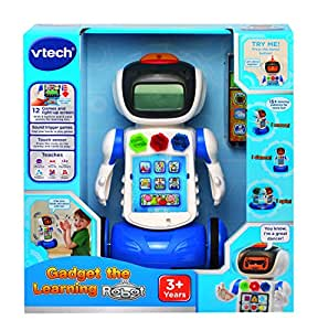 Vtech Gadget the Learning Robot: Amazon.co.uk: Toys & Games