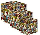 Gnomys Diaries Primer Día de Cole Set de Cajas, Cartón, Multicolor, 13x13x13 cm, 3 Unidades