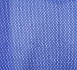 42 Zoll breit Nähen Baumwollgewebe-Blatt-Druck-Blau Craft