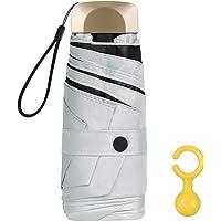 Vicloon Parapluie Pliant,Parapluies de Poche Coupe-Vent & Ultra-léger,Mini Parapluies avec 6 Côtes,Parapluie de Soleil…