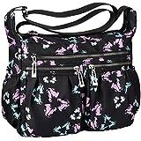 Vbiger Umhängetasche Damen Handtasche Henkeltasche Schultertasche Wasserdichte Leichte Crossbody Messengertasche für Mädchen Schule Frauen