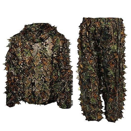dschungel kleidung Frau Männer Camouflage Kleidung Ghillie Anzug Dschungel Camouflage Kleidung für Jagd Schießen Birdwatching