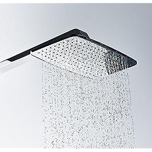 Hansgrohe 27287000 Raindance Select E 360 columna de ducha, 3 tipos de chorro, ahorro de agua, cromo