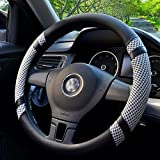 Best Steering Wheel Covers - FANSONG New Style Summer Microfiber Leather & Ice Review