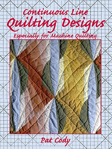 Continuous Line Quilting Designs: Especially for Machine Quilting (Dover Quilting) -