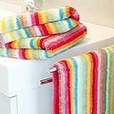Cawö Fresh Duschtuch Lifestyle 7066 | 42 multicolor - 70 x 140