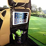 CreaTion® Car Storage & Backseat Organizer - iPad Holder | Eco Material | Must Have Baby Travel Accessories And Kids Toy Storage