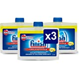 Finish Curalavastoviglie Additivo Lavastoviglie, Limone, 3 x 250 ml