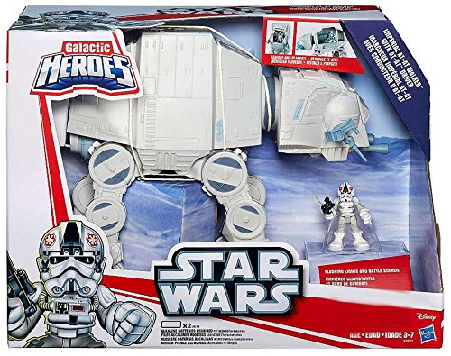 Heroes, Exclusive Imperial AT-AT Walker with AT-AT Driver Action Figure by Hasbro (Star Wars Imperial Walker)