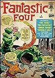 RoomMates 539027Moderne Poster wiederverwendbar Marvel die fantastischen 4Comics Wandsticker Violetta 60,96x 87cm