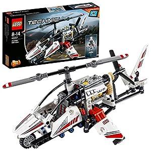 LEGO- Technic Helicopter Elicottero Ultraleggero Costruzioni Piccole Gioco Bambina, Multicolore, 42057 18 spesavip