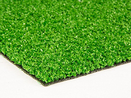 Premium artificial lawn grass WIMBLEDON - 6mm Pile high - (12,50£/m²) - 4,00m x 3,00m