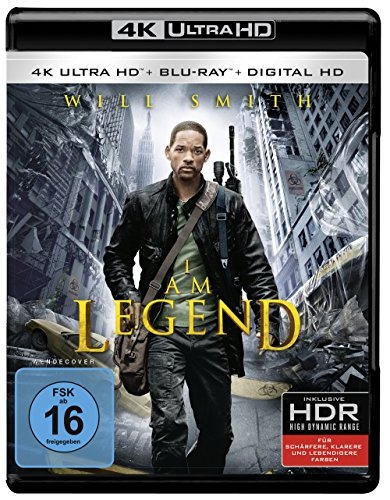 Bild von I Am Legend (4K Ultra HD + 2D-Blu-ray) (2-Disc Version)  [Blu-ray]